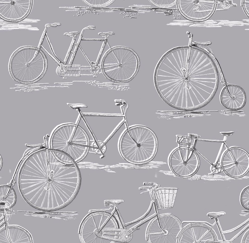 Voyage Penny Farthing - Antique Wallpaper (4435124256826)