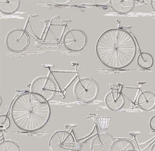 Load image into Gallery viewer, Voyage Penny Farthing - Sepia Wallpaper (4435124289594)