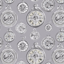 Load image into Gallery viewer, Voyage Pocket Watch - Charcoal Wallpaper (4435124551738)