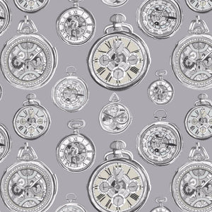 Voyage Pocket Watch - Charcoal Wallpaper (4435124551738)