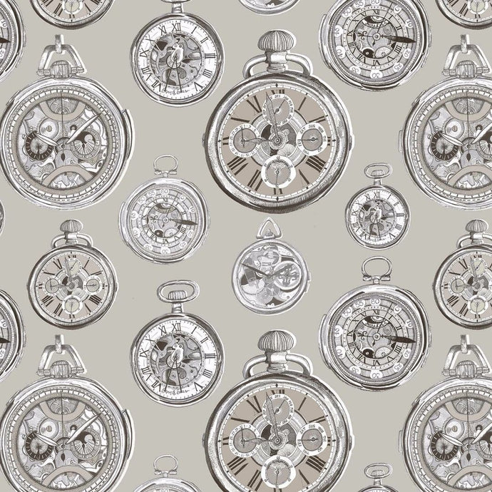 Voyage Pocket Watch - Sepia Wallpaper (4435124617274)