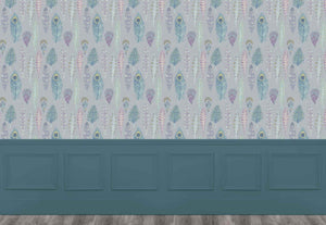 Samui - Heather Silver Wallpaper (4435154501690)