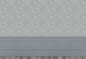 Puturi - Silver Wallpaper (4435149619258)