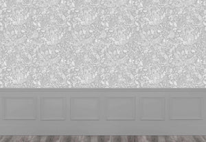Cademuir - Silver Wallpaper (4435138969658)
