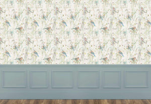 Chaffinch - Cream Wallpaper (4435100991546)
