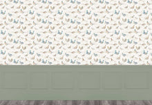 Load image into Gallery viewer, Game Birds - Linen Wallpaper (4436283785274)