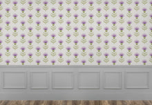 Load image into Gallery viewer, Nessy Small - Damson Wallpaper (4436284178490)