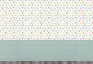 Watering Cans Small - Cream Wallpaper (4436285784122)