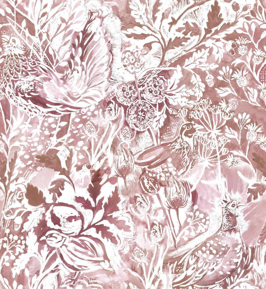 Voyage Rothesay - Coral Wallpaper (4435101614138)