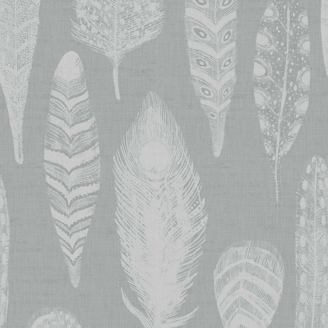 Voyage Samui Damask - Silver Wallpaper (4435155058746)