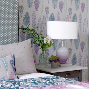 Voyage Samui - Heather Silver Wallpaper (4435154501690)