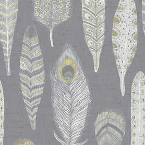 Voyage Samui - Natural Charcoal Wallpaper (4435154763834)