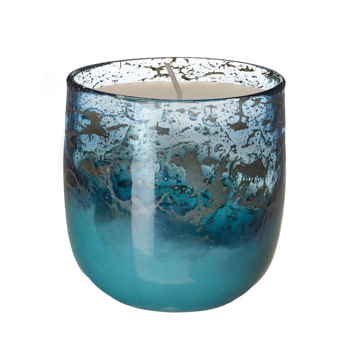 Thalassa Hand Blown Glass Scented Candle