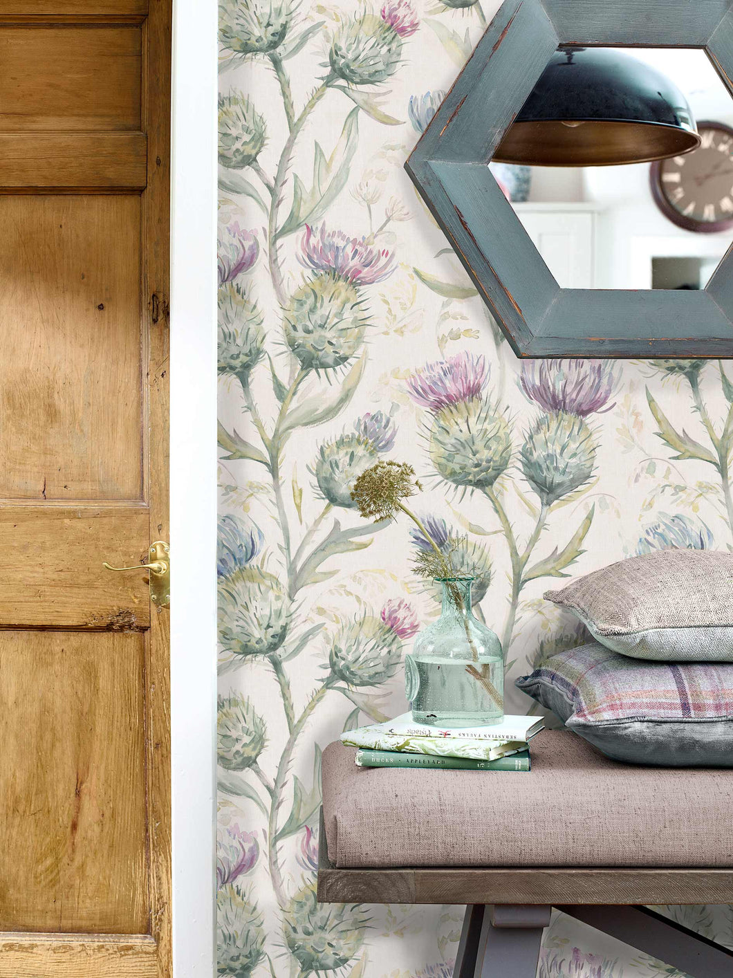 Voyage Thistle Glen - Spring Wallpaper (4436285063226)