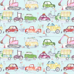 Voyage Traffic Jam Dusk Wallpaper (4435145424954)