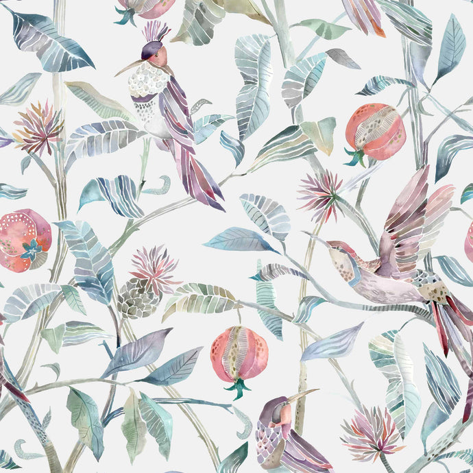 Voyage Colyford - Loganberry Wallpaper (4435095420986)
