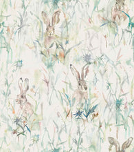 Load image into Gallery viewer, Voyage Jack Rabbit - Cream Wallpaper (4435101220922)