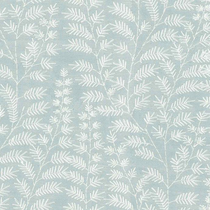 Voyage Fernbank - Duck Egg Wallpaper (4435132088378)