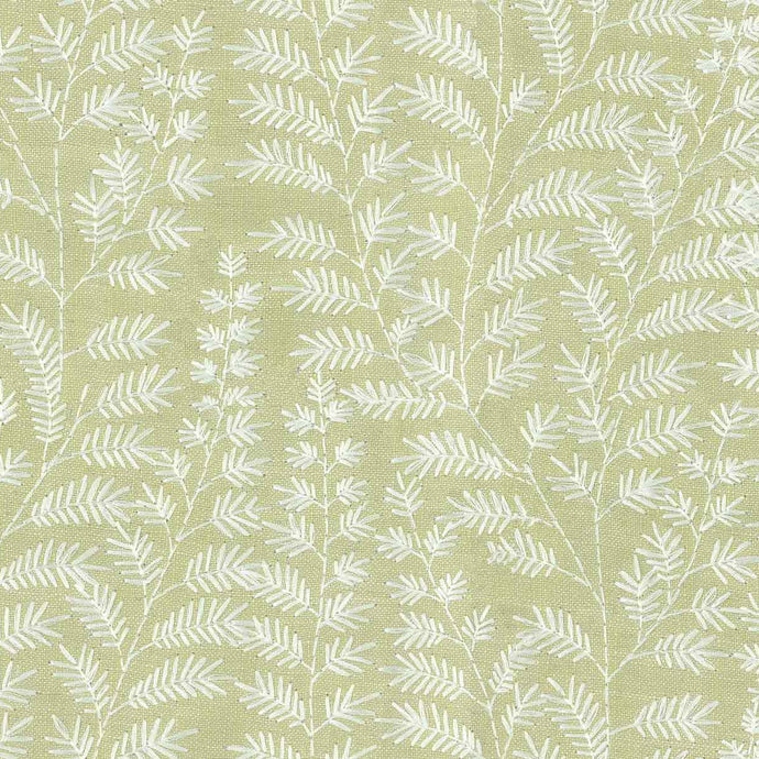 Voyage Fernbank - Lemongrass Wallpaper (4435132121146)