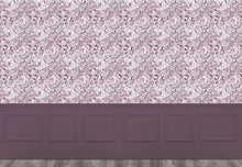 Load image into Gallery viewer, Rothesay - Damson Wallpaper (4435101679674)