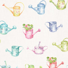 Load image into Gallery viewer, Voyage Watering Cans Small - Cream Wallpaper (4436285784122)