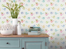 Load image into Gallery viewer, Watering Cans Small - Cream Wallpaper (4436285784122)