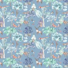 Load image into Gallery viewer, Voyage Woodland Adventures Denim Wallpaper (4435146113082)