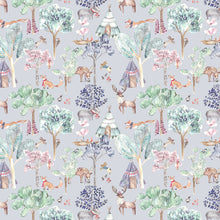 Load image into Gallery viewer, Voyage Woodland Adventures Lilac Wallpaper (4435146211386)