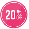 Get up to 20% off selected lines now!
