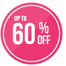 Get up to 60% off selected lines now!
