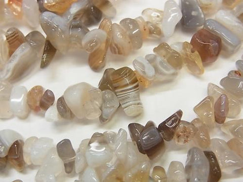 1strand $2.79! Botswana Agate  Chips (Small Nugget ) 1strand (aprx.33inch/84cm)