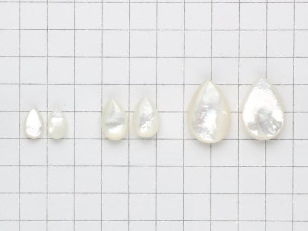 High Quality White Shell AAA Pear shape (Smooth) [12x7] [16x10] [24x16]