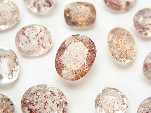 High Quality Lepidocrocite in Quartz AAA Undrilled Faceted 3pcs $39.99!