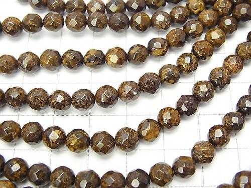 1strand $8.79! Bronzite  64Faceted Round 6mm 1strand (aprx.15inch/38cm)