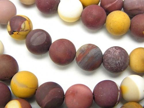 1strand $7.79! Frost Mookaite Round 8mm 1strand (aprx.15inch / 36cm)