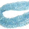 1strand $16.99! High Quality Blue Chalcedony AAA Faceted Coin 1strand (aprx.13inch / 32cm)