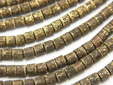 1strand $5.79! Brass  Tube 3x3x3mm Oxidized Finish  1strand (aprx.27inch/68cm)