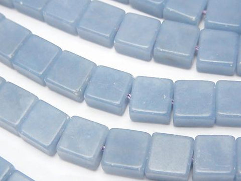 1strand $9.79! Angelite AAA Square 8x8x5mm 1strand (aprx.15inch/38cm)