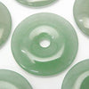 3pcs $5.79! Green Aventurine Coin (Donut) 30 x 30 x 5 mm 3 pcs