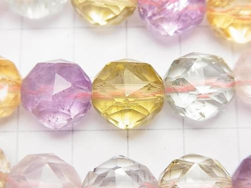 High Quality Mixed Stone AAA - Star Faceted Round 12 mm 1/4 or 1strand (aprx.15 inch / 36 cm)