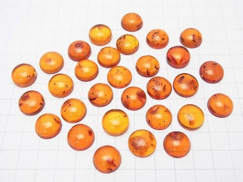 Baltic Amber Round Cabochon 14 x 14 x 6 mm 1 pc $17.99!
