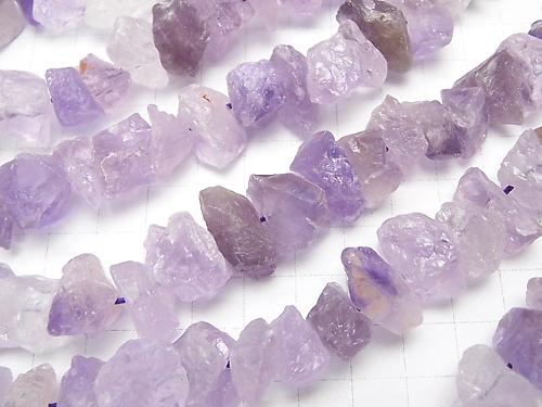 1strand $9.79! Light color Amethyst Rough Rock Nugget 1strand (aprx.15inch / 38cm)