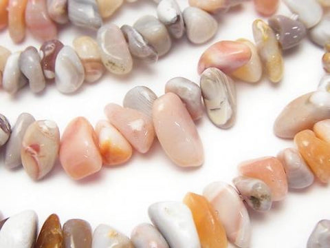 1strand $5.79! Pink Botswana Agate Chips (Small Nugget) 1strand (aprx.15inch / 36cm)