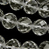 "Diamond Cut! Crystal AAA 64 Faceted Round 12 mm ""Special cut"" half or 1 strand (aprx. 15 inch / 37 cm)"