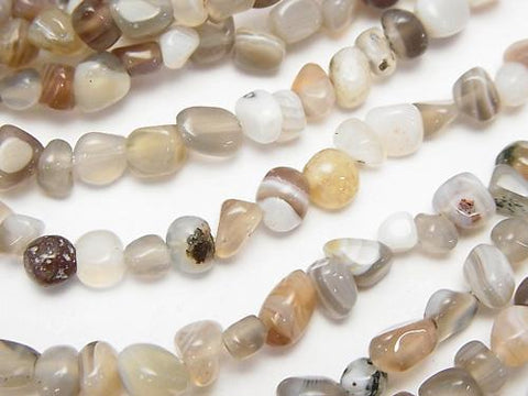 1strand $4.79! Botswana Agate  Small Size Nugget  1strand (aprx.15inch/38cm)
