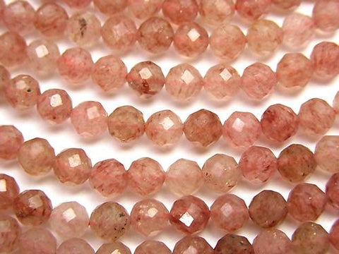 1strand $9.79! Diamond Cut!  Moscovite AA++ Faceted Round 4mm  1strand (aprx.15inch/37cm)