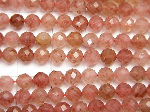 1strand $9.79! High Quality!  Moscovite AA++ Faceted Round 4mm  1strand (aprx.15inch/37cm) - wholesale gemstone beads, gemstones - kenkengems.com