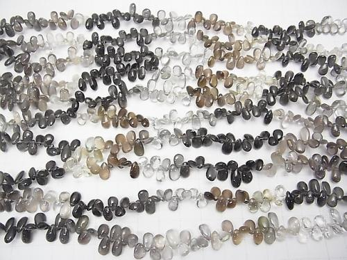 1strand $49.99! High Quality Sillimanite ,Cat's Eye AAA Pear shape (Smooth)  1strand (aprx.8inch/20cm)