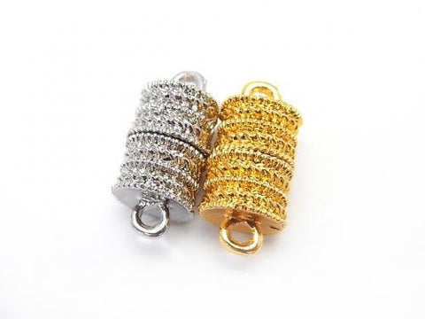 Magnetic Clasp with Metal Parts Jump Ring 18x8x8mm 2pairs $2.39!