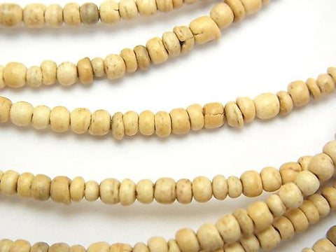 1strand $1.79! Coconut Roundel 3.3x3.5x3mm natural color 1strand (aprx.15inch / 37cm)
